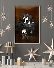 Boston Terrier Believe 11x17 Poster lifestyle-holiday-poster-1