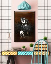 Boston Terrier Believe 11x17 Poster lifestyle-poster-6