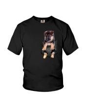 German Shepherd Pocket 301104 Youth T-Shirt thumbnail