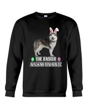 Alaskan Malamute Easter Crewneck Sweatshirt thumbnail