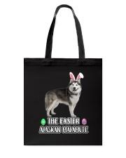 Alaskan Malamute Easter Tote Bag thumbnail
