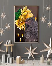 Bergamasco Shepherd Sunflower 11x17 Poster lifestyle-holiday-poster-1