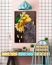Bergamasco Shepherd Sunflower 11x17 Poster lifestyle-poster-6