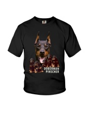 Doberman Pinscher Awesome Family 0701 Youth T-Shirt thumbnail