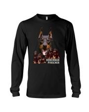 Doberman Pinscher Awesome Family 0701 Long Sleeve Tee thumbnail
