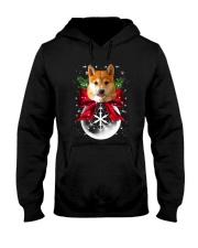 Shiba Inu Hooded Sweatshirt front