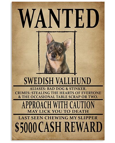 Swedish Vallhund Wanted Poster 2201