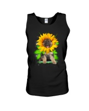 THEIA German Shepher Sunflower 1307  Unisex Tank thumbnail