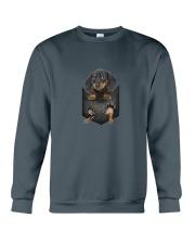 Dachshund Pocket 1012 Crewneck Sweatshirt thumbnail