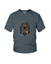 Dachshund Pocket 1012 Youth T-Shirt thumbnail