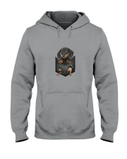 Dachshund Pocket 1012 Hooded Sweatshirt thumbnail