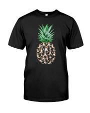 Pineapple and Beagle Classic T-Shirt front