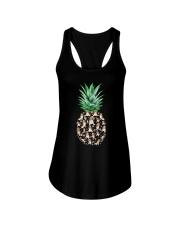 Pineapple and Beagle Ladies Flowy Tank thumbnail