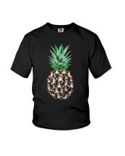 Pineapple and Beagle Youth T-Shirt thumbnail