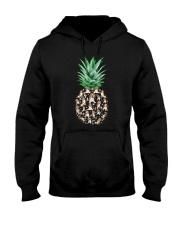 Pineapple and Beagle Hooded Sweatshirt thumbnail