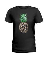Pineapple and Beagle Ladies T-Shirt thumbnail