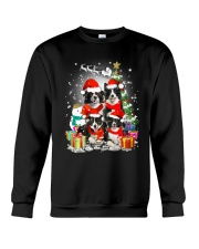 Border Collie Christmas Crewneck Sweatshirt front