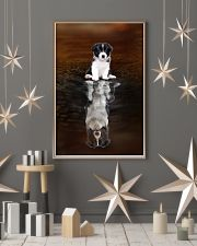 Border Collie Believe 11x17 Poster lifestyle-holiday-poster-1