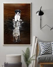 Border Collie Believe 11x17 Poster lifestyle-poster-1