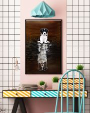 Border Collie Believe 11x17 Poster lifestyle-poster-6