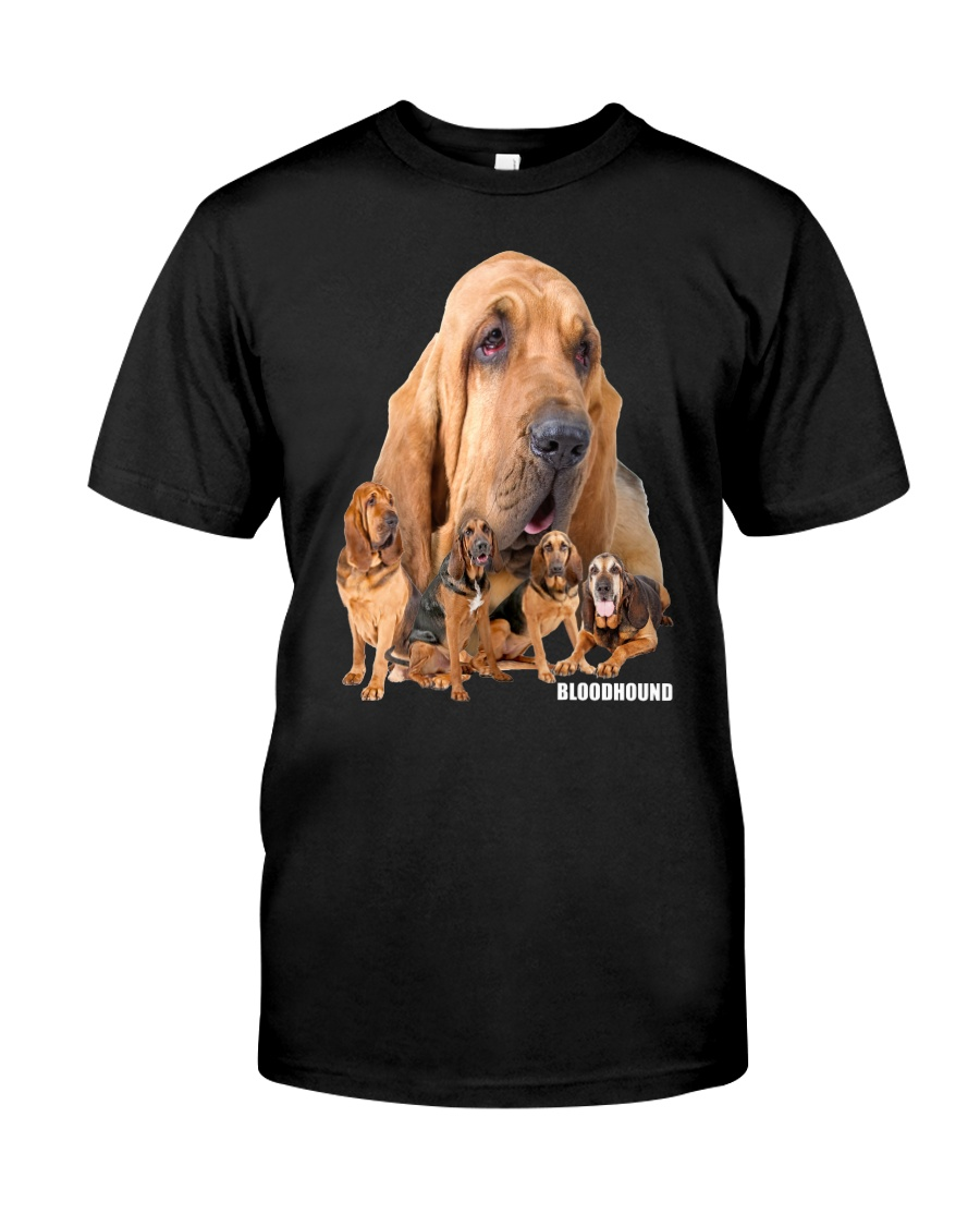 Bloodhound Awesome Family 0501 Classic T-Shirt
