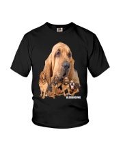 Bloodhound Awesome Family 0501 Youth T-Shirt thumbnail