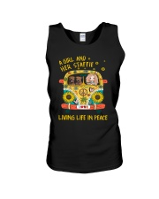 A girl and her Staffie 0709 Unisex Tank thumbnail