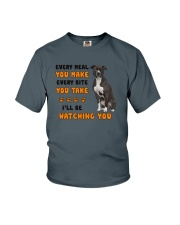 American Pit Bull Terrier I Will Be Watching 1401 Youth T-Shirt thumbnail