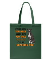 American Pit Bull Terrier I Will Be Watching 1401 Tote Bag thumbnail