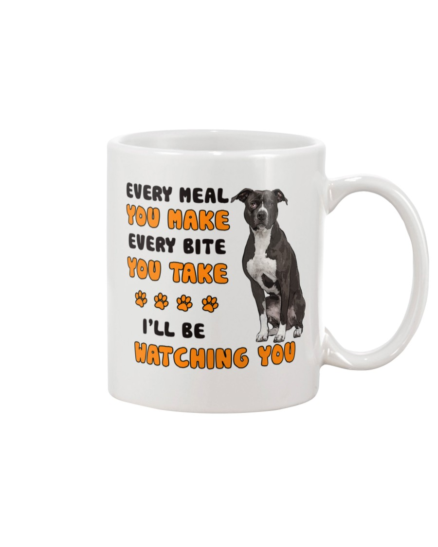 American Pit Bull Terrier I Will Be Watching 1401 Mug