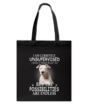Dogo Argentino Unsupervised 1503 Tote Bag thumbnail