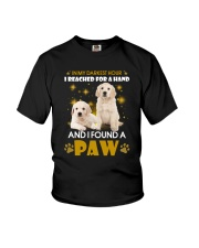 Golden Retriever paw Youth T-Shirt thumbnail