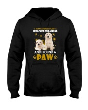 Golden Retriever paw Hooded Sweatshirt thumbnail