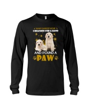 Golden Retriever paw Long Sleeve Tee tile