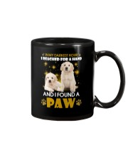 Golden Retriever paw Mug tile