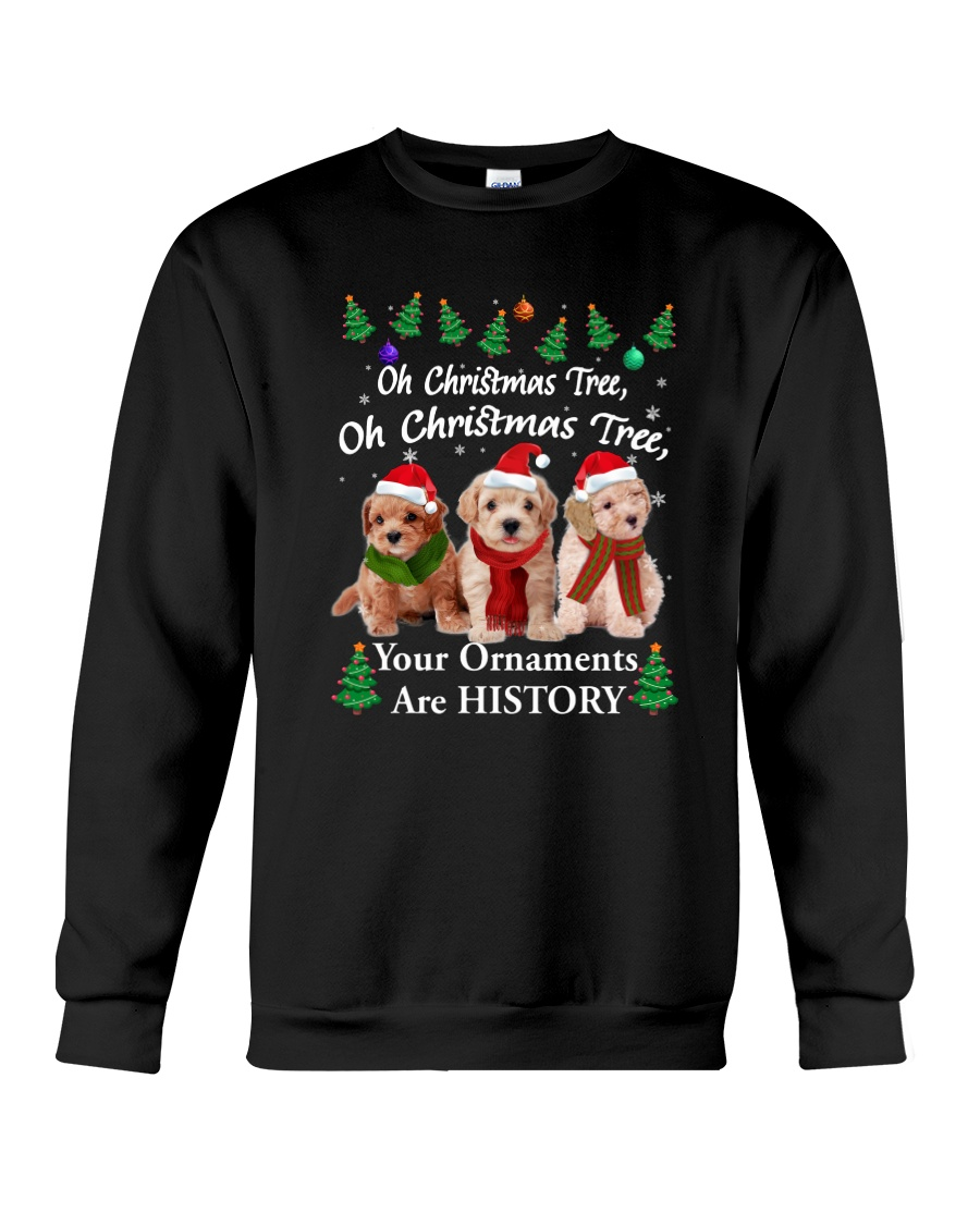 Poodle Ornaments 2310 Crewneck Sweatshirt