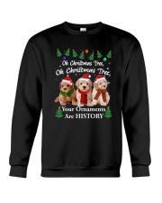 Poodle Ornaments 2310 Crewneck Sweatshirt front