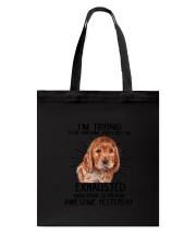 English Cocker Spaniel trying to be awesome 180319 Tote Bag thumbnail
