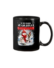 Jack Russell Terrier And Snowman  Mug thumbnail