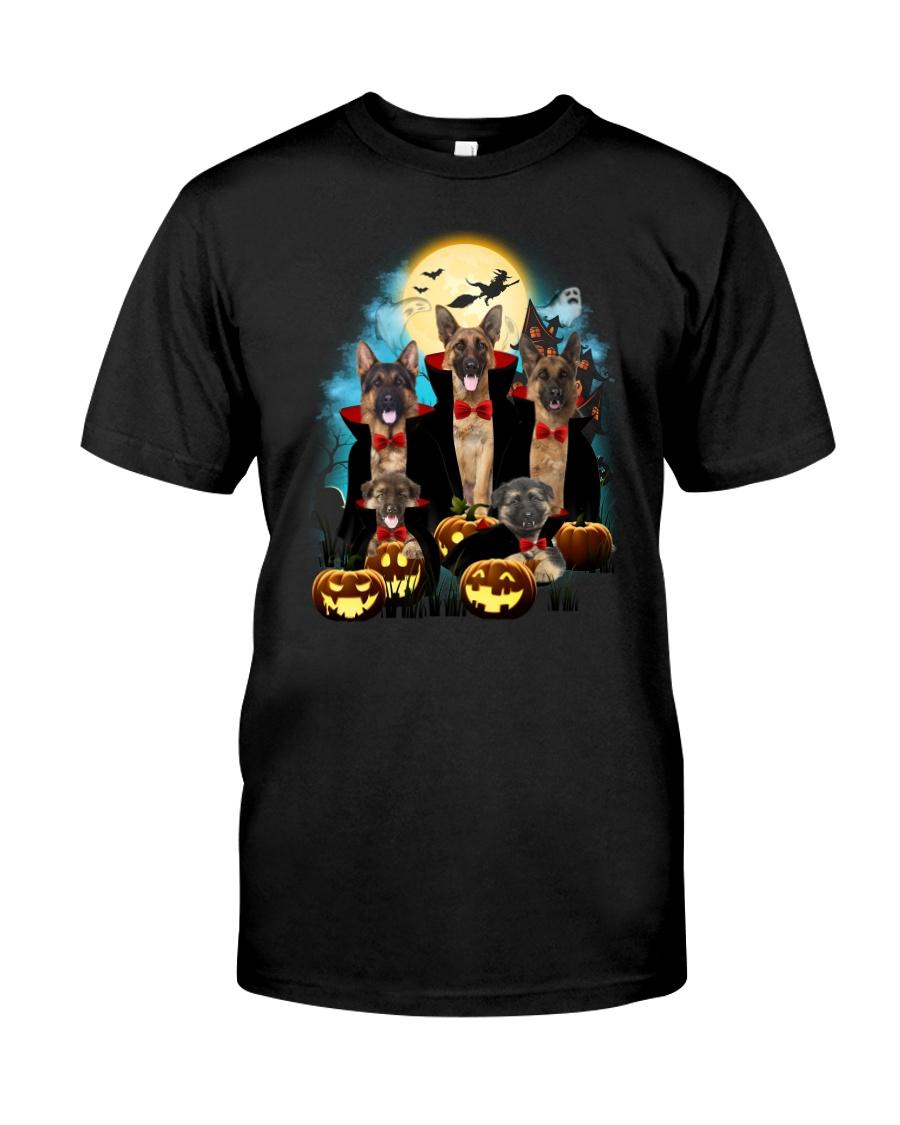 German Shepherd Dracula Family 1608 Classic T-Shirt