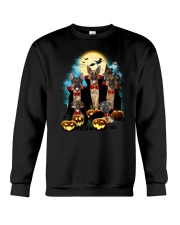 German Shepherd Dracula Family 1608 Crewneck Sweatshirt thumbnail