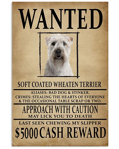 Soft Coated Wheaten Terrier Wanted Poster 2201