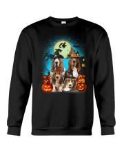 Gaea - Basset Hound Halloween - 1608 - 13 Crewneck Sweatshirt thumbnail
