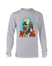 Gaea - Basset Hound Halloween - 1608 - 13 Long Sleeve Tee thumbnail