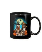 Gaea - Basset Hound Halloween - 1608 - 13 Mug thumbnail