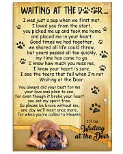 Bullmastiff Waiting At The Door Poster 2301 11x17 Poster front