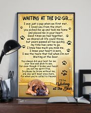 Bullmastiff Waiting At The Door Poster 2301 11x17 Poster lifestyle-poster-2