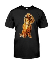 Dachshund Light 200818 Classic T-Shirt front