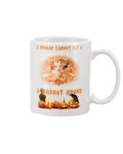 Basset Hound And Broomstick  Mug thumbnail