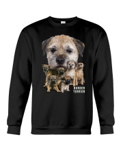 Border Terrier Awesome Family 0501 Crewneck Sweatshirt thumbnail